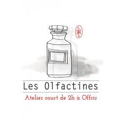Offre un atelier olfactif court de 2h - BON CADEAU